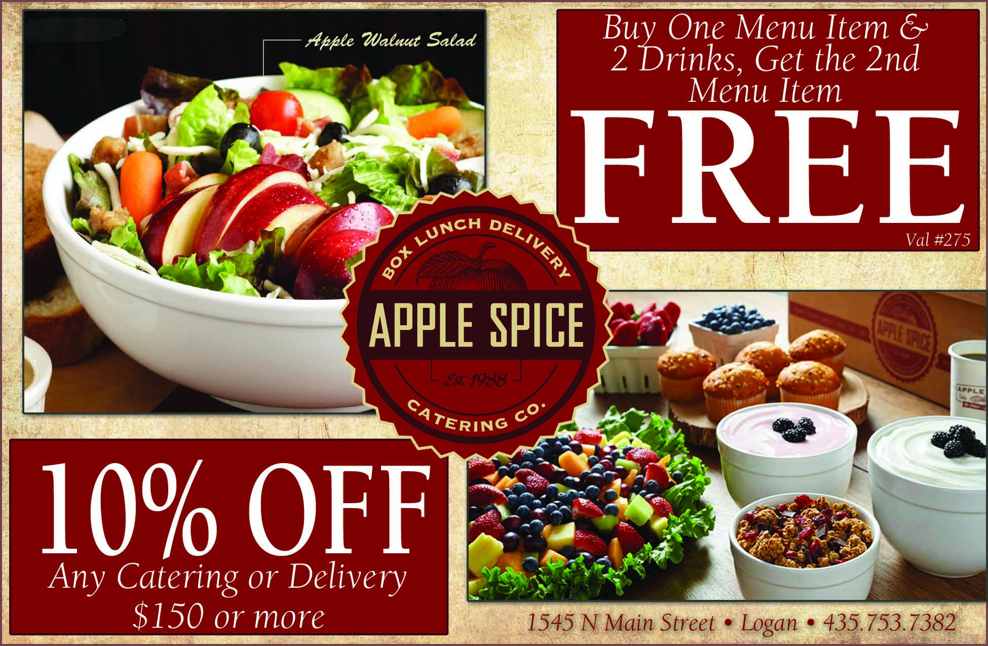Apple Spice Logan Utah