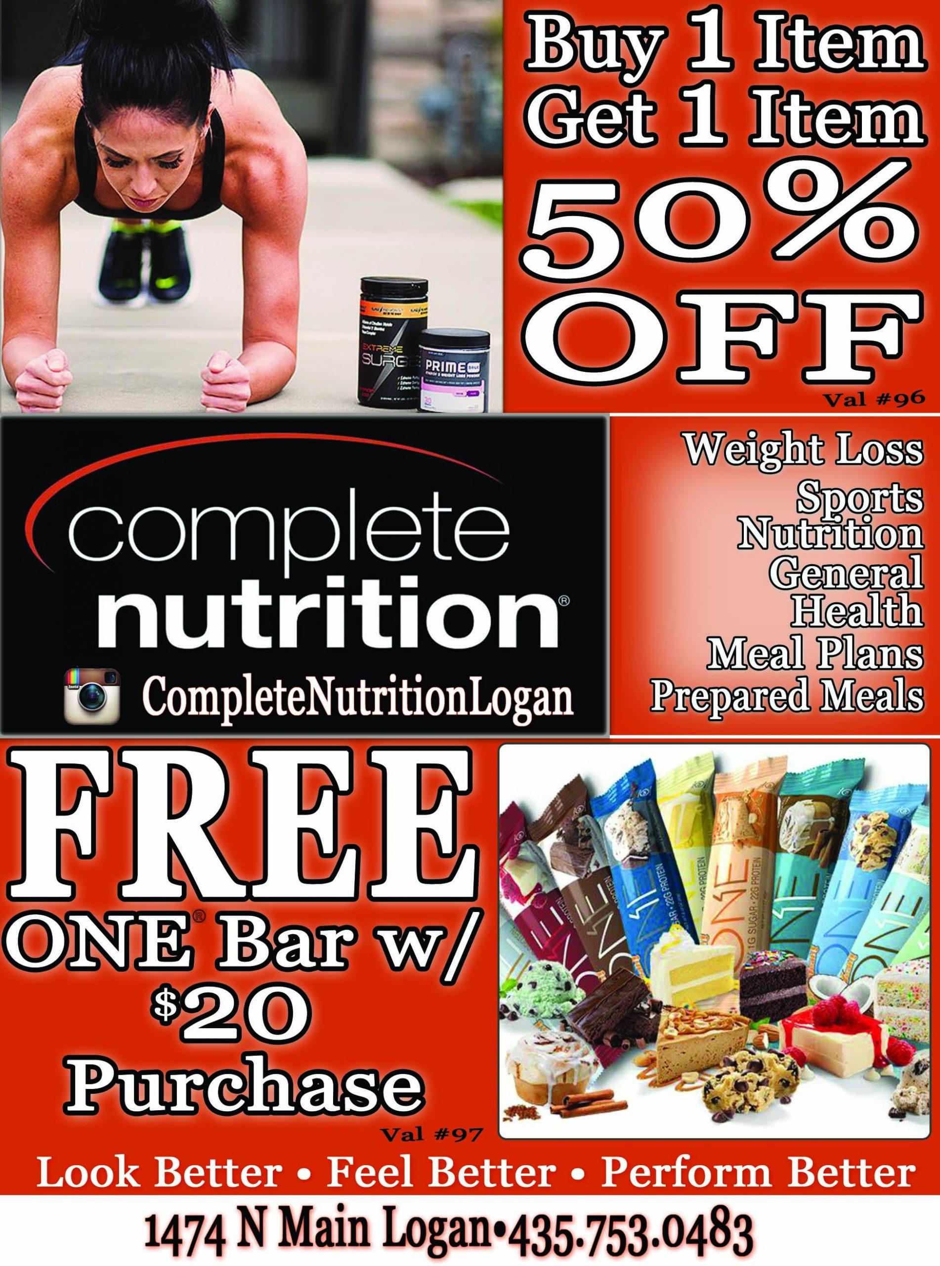 Complete Nutrition Logan Utah