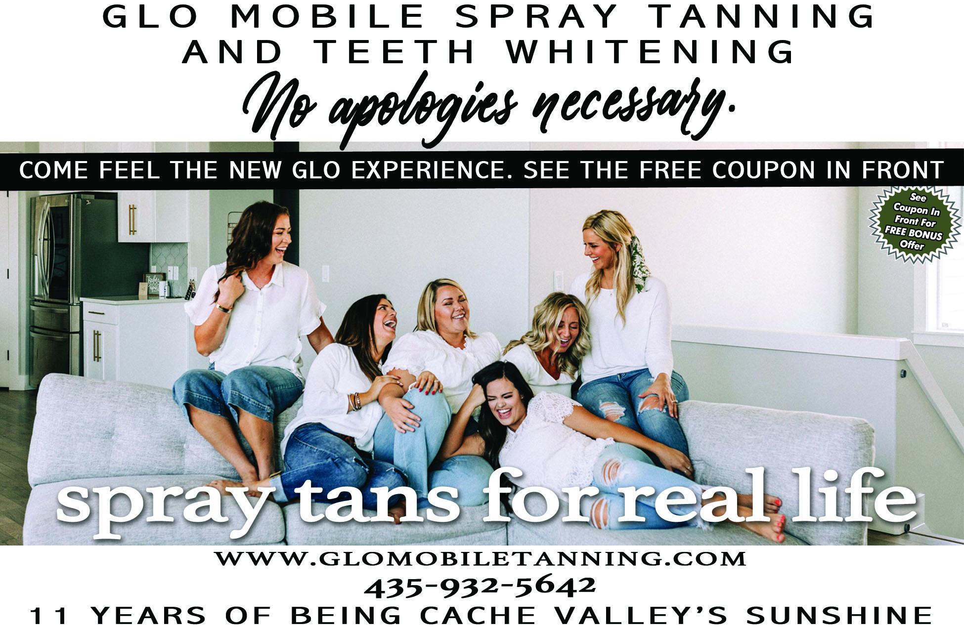 Glo Mobile Tanning Sunless Tanning Logan Utah