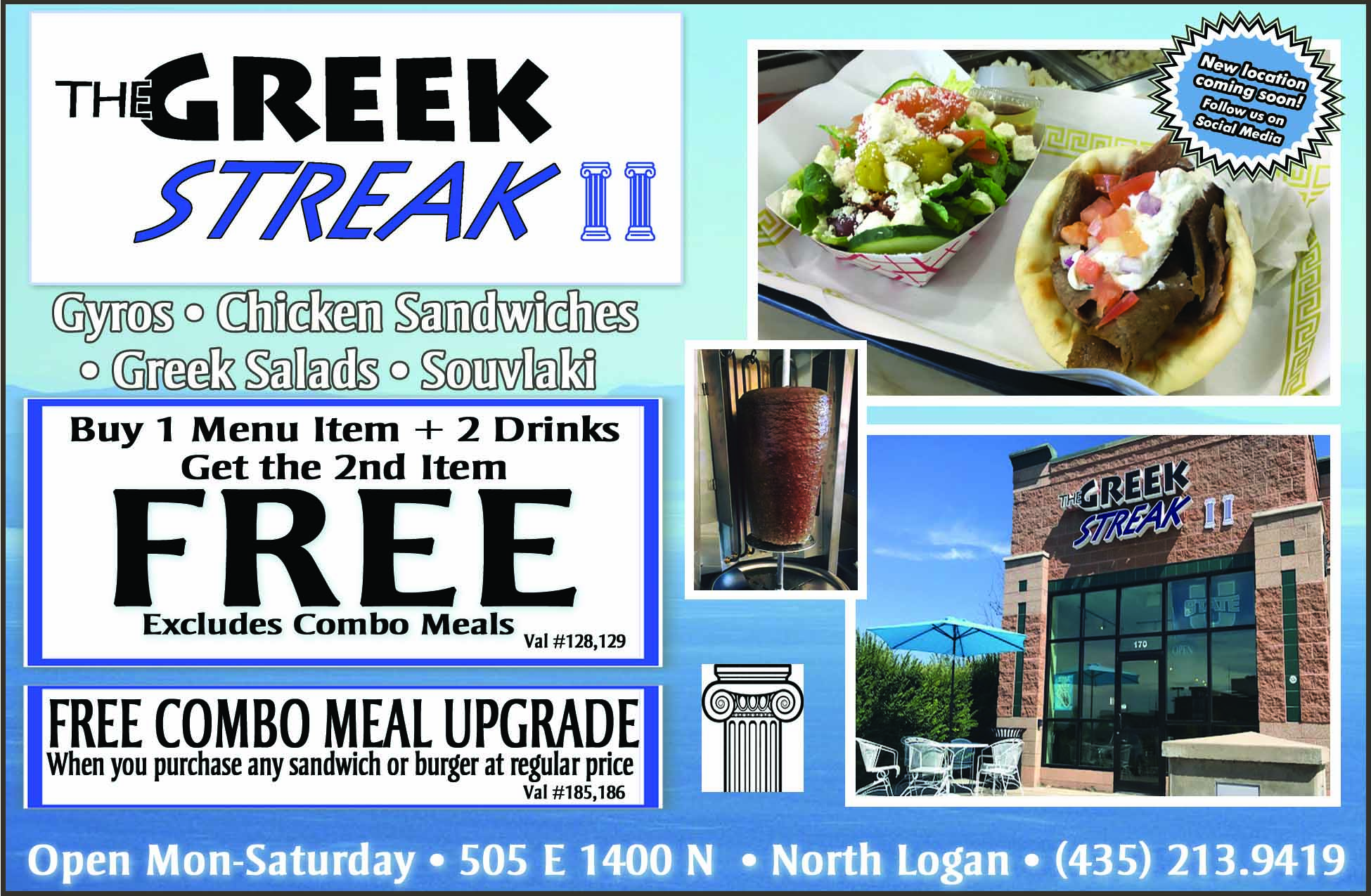 Greek Streak Logan Utah