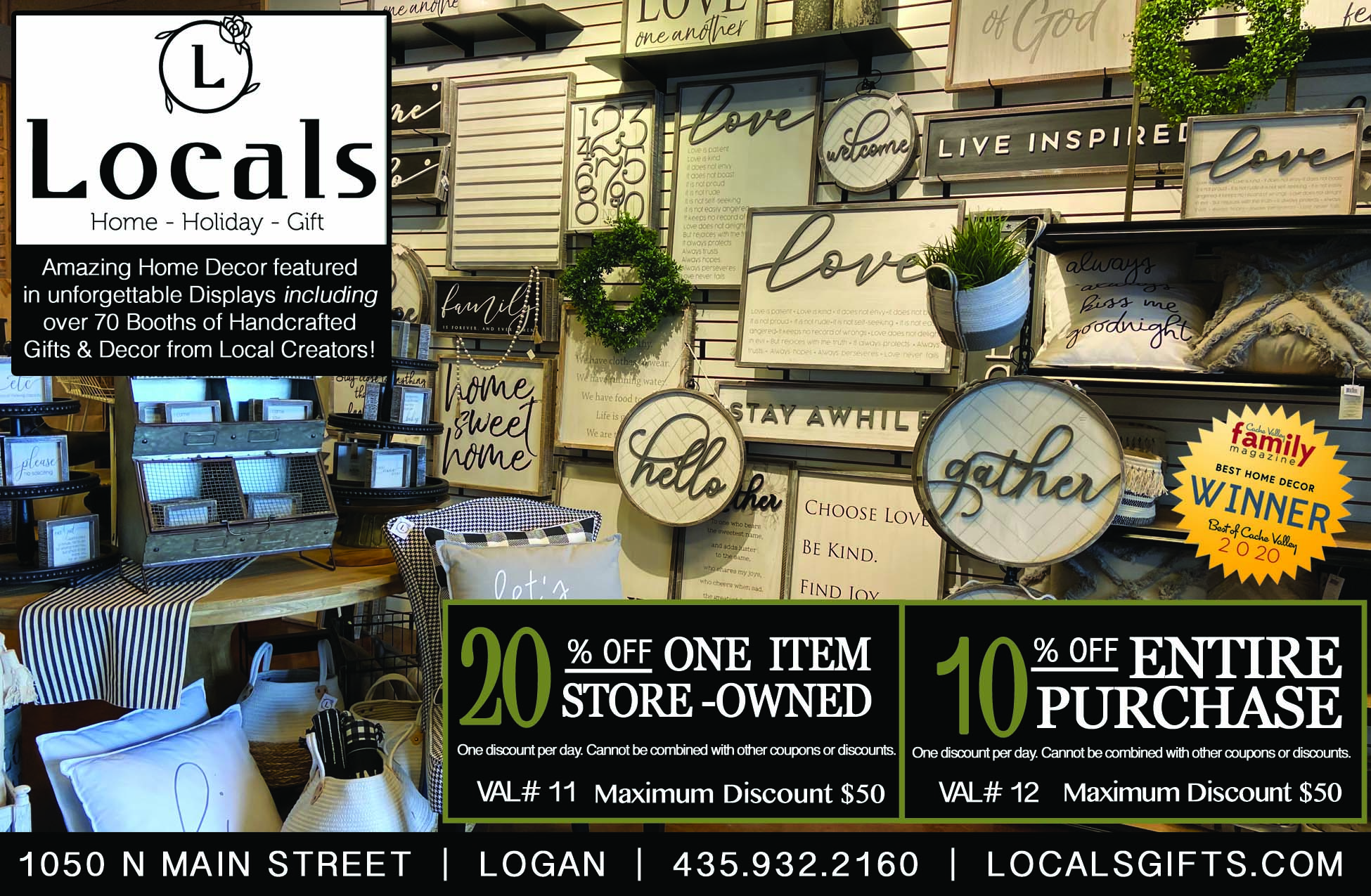 Locals Home Decor Store Logan
