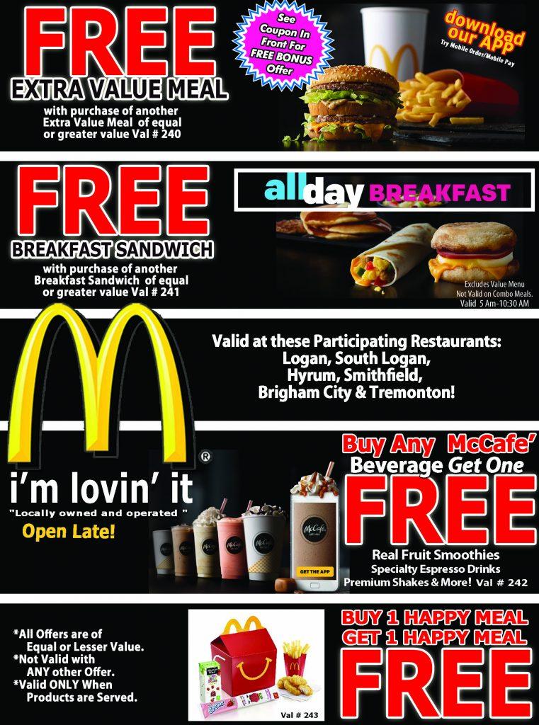 buy 5 mccafe get 1 free