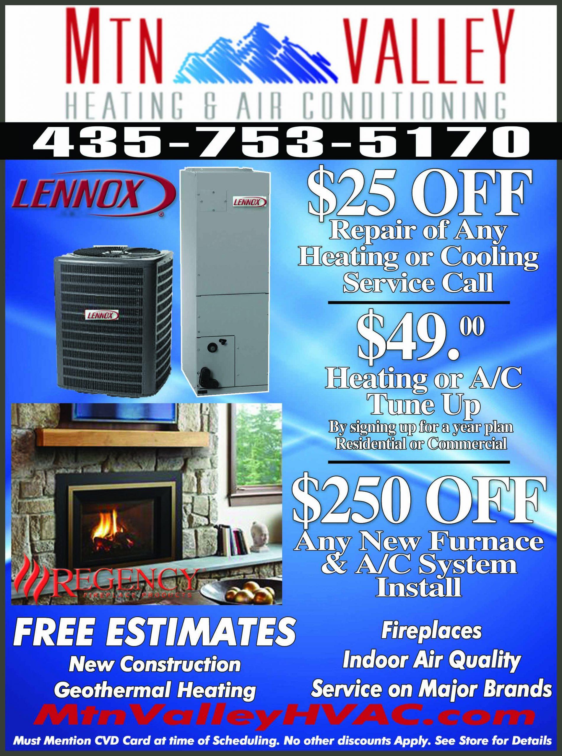 Mtn Valley Heating and Air Conditioning Logan Utah