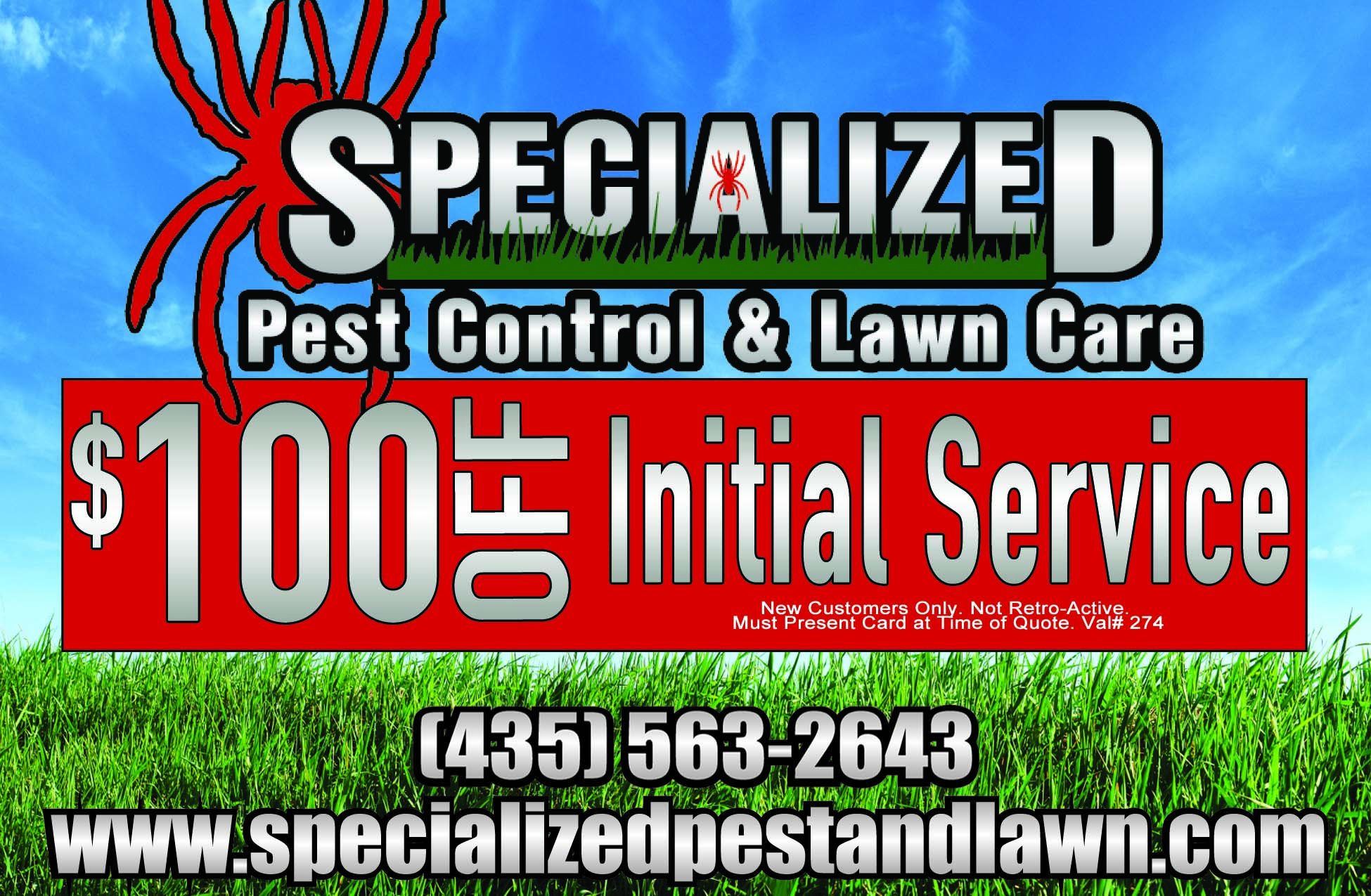 Specialized Pest Control and Lawn Care Logan Utah