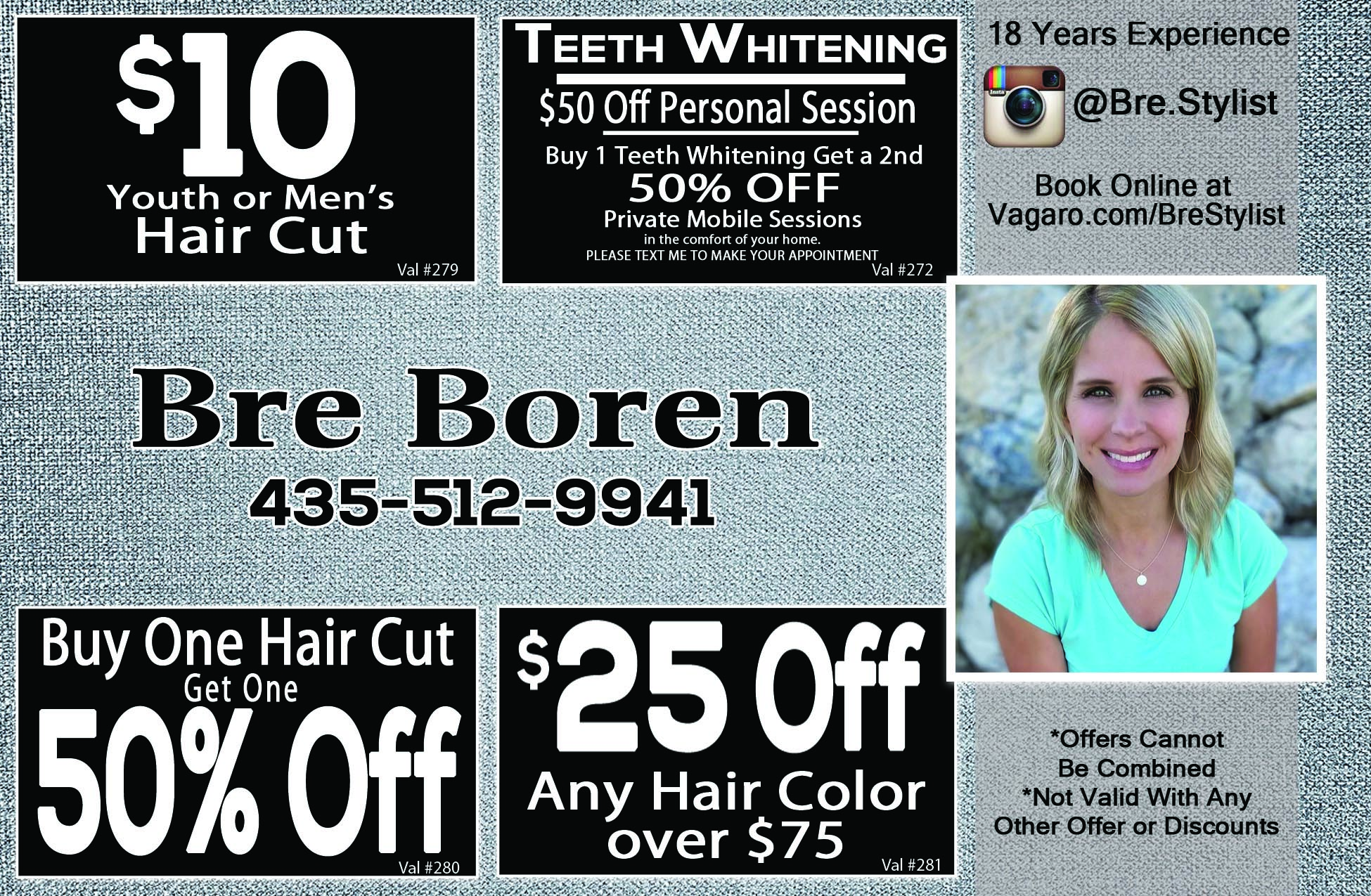 Bre Boren Hair Stylist Logan Utah