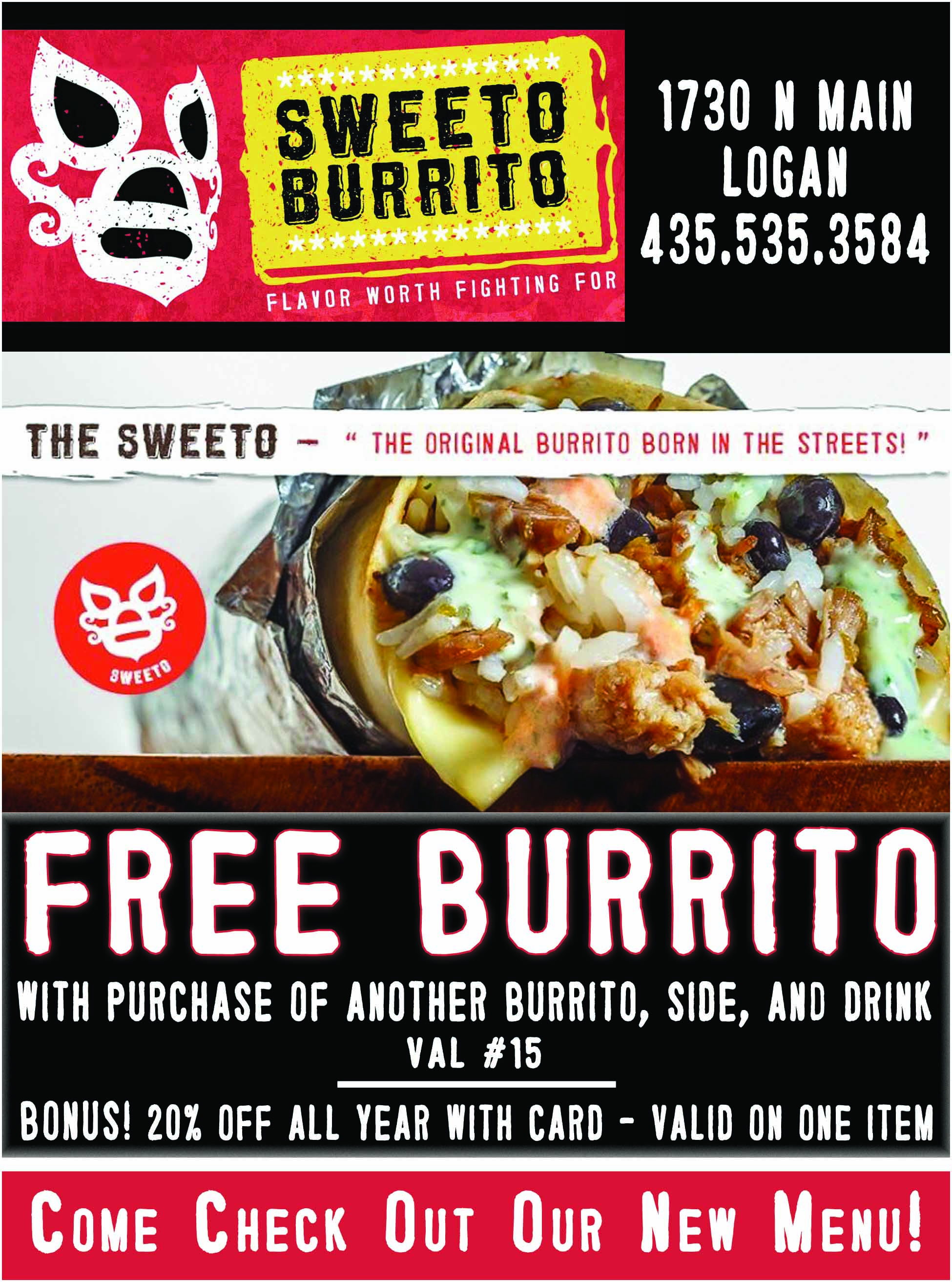 Cache Valley Savings - Sweeto Burrito