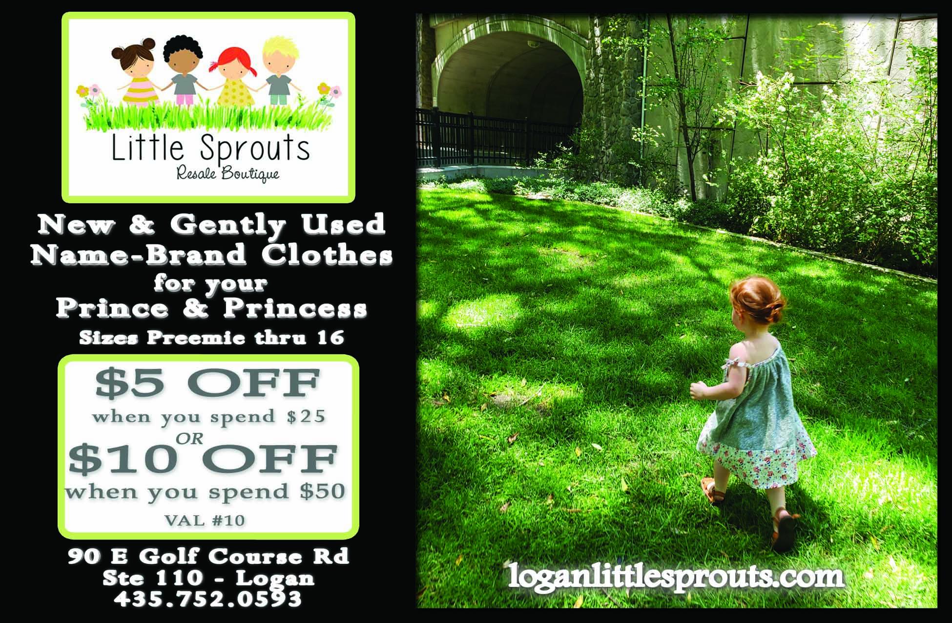 Little Sprouts Logan Utah Children's Clothing