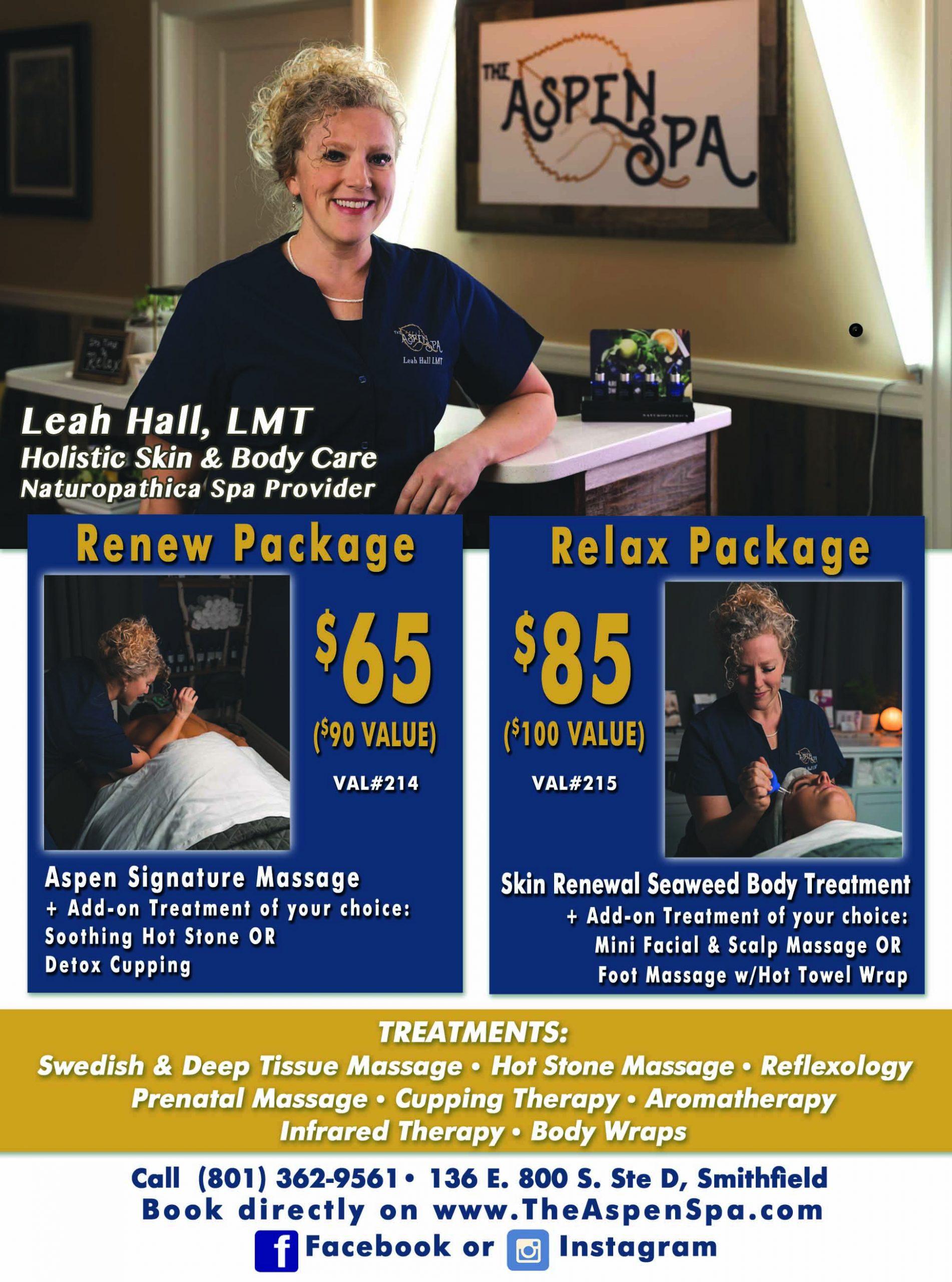 The Aspen Spa Massage