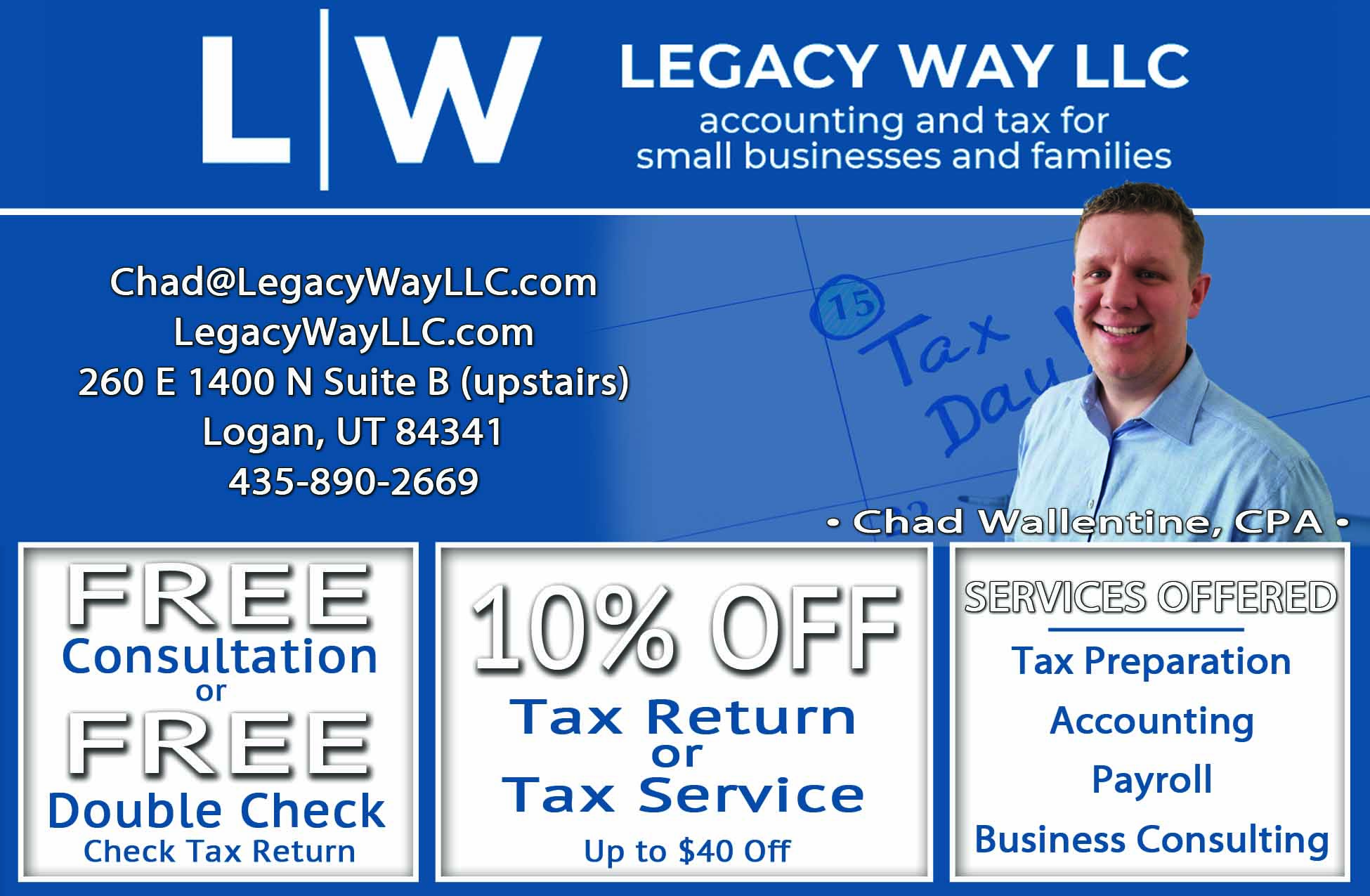 Legacy Way CPA Logan