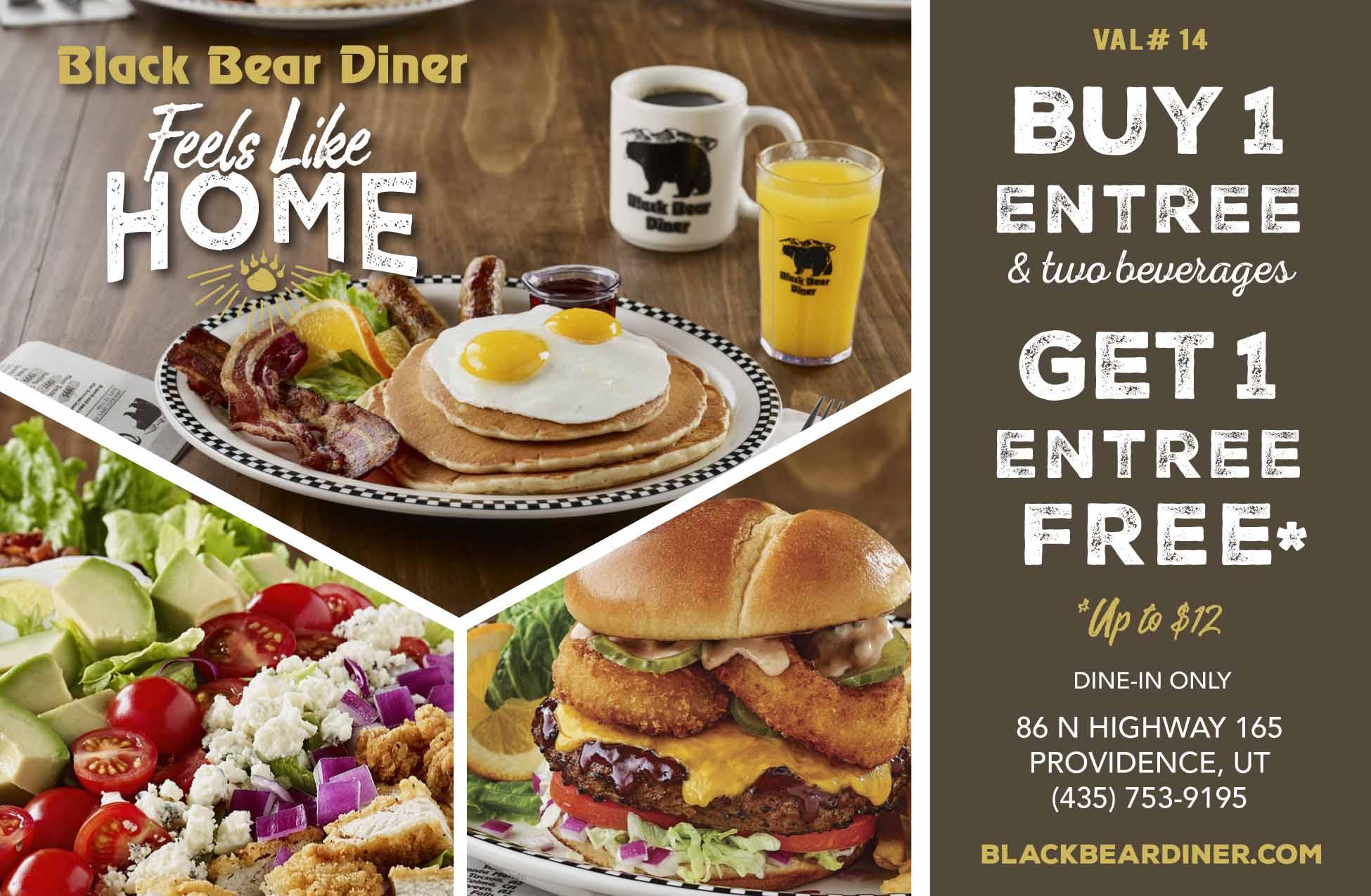 Black Bear Diner Providence Utah