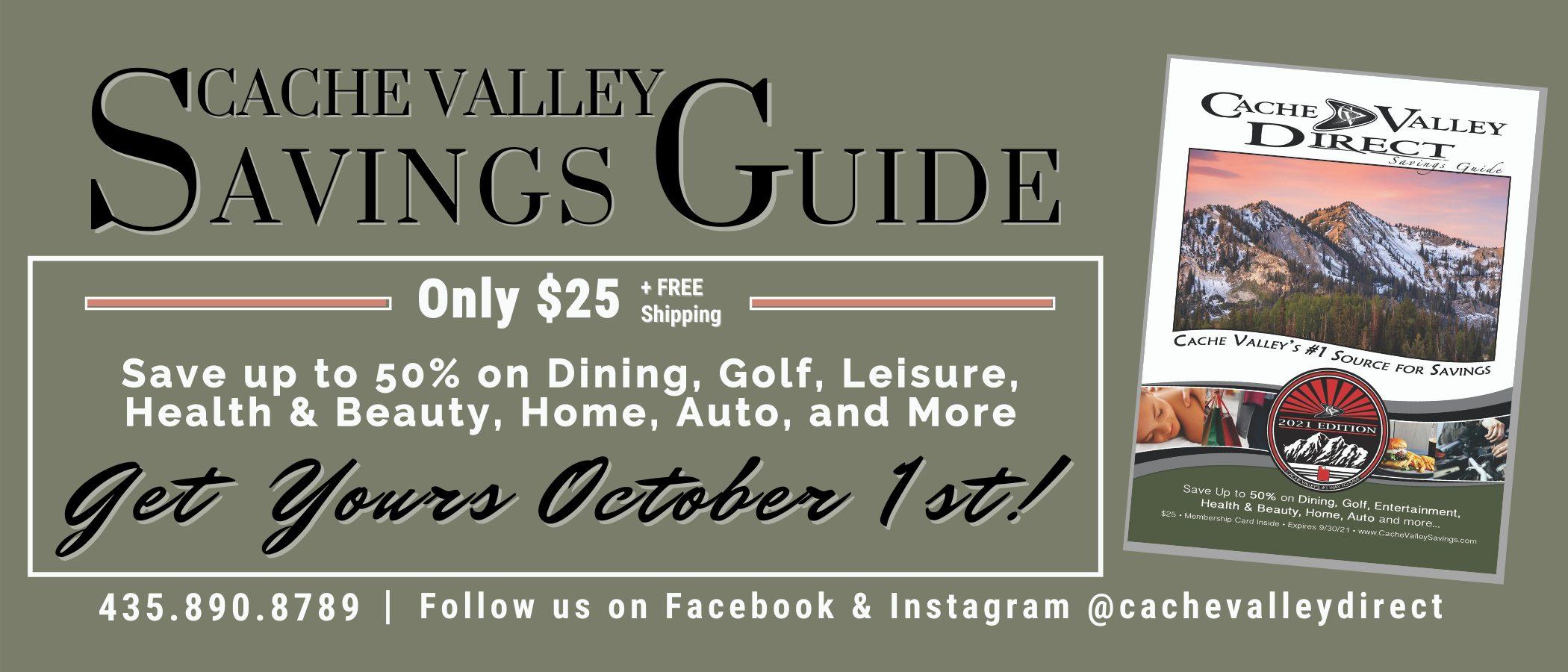 Cache Valley Direct Savings Guide Logan Utah